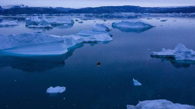Ahli menyebut sebagian wilayah Indonesia sudah terdampak pencairan es Greenland.