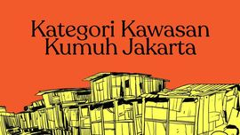 INFOGRAFIS : Kategori Kawasan Kumuh di DKI Jakarta