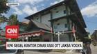 VIDEO: KPK Segel Kantor Dinas Usai OTT Jaksa Yogya