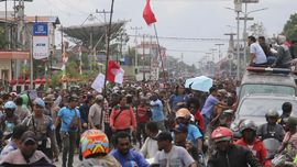 Cerita Korlap Demo Papua yang 'Diamankan' Polisi di Timika