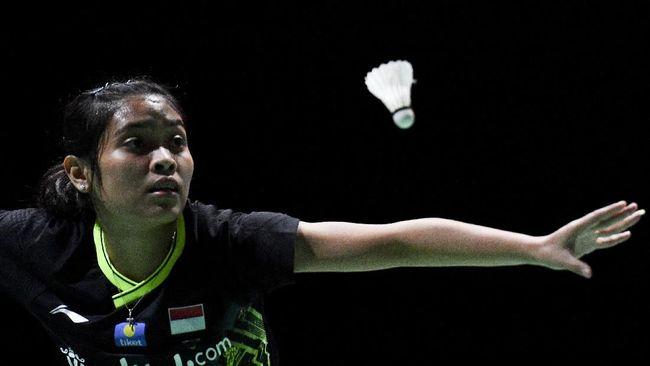Gregoria Mariska gagal lolos ke semifinal Thailand Masters 2020 setelah kalah dari Akane Yamaguchi dengan skor 23-25, 14-21, Jumat (24/1).