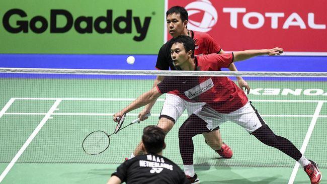 Kevin Sanjaya Sukamuljo/Marcus Fernaldi Gideon telah tumbang. Indonesia kecewa namun masih bisa menaruh asa pada Mohammad Ahsan/Hendra Setiawan.