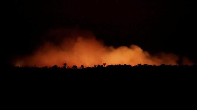 Kebakaran lahan yang melanda hutan hujan Amazon di Brasil disebut telah mencapai rekor terparah tahun ini.
