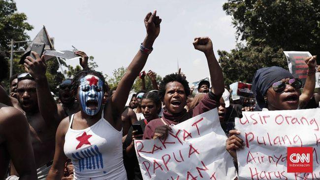 Polisi Tangkap 18 Orang di Rusun Mahasiswa Uncen Papua