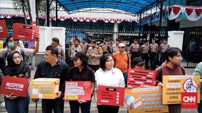 Kominfo: 849 Situs Provokatif dan Sebar Hoak di Papua