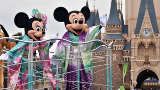 Cegah Penyebaran Virus Corona, Disneyland Tokyo Ditutup