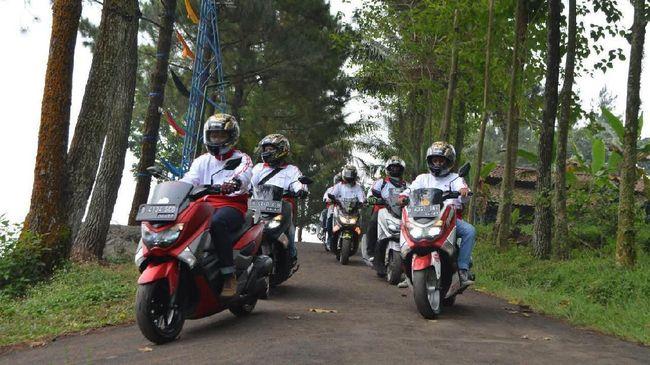 Komunitas Nmax Rayakan Hari Kemerdekaan di Bogor