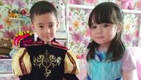 Pangeran Rafathar dan Putri Gempi siap beraksi! (Foto: Instagram @raffinagita1717)