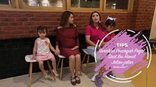 Gerakan Pencegah Pegal Saat Ibu Hamil Jalan-jalan