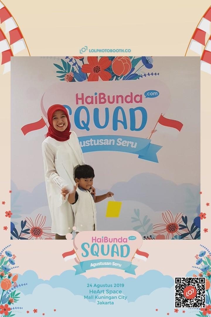 Begini keseruan Bunda dan putra-putrinya di lomba 17-an bareng HaiBundaSquad.