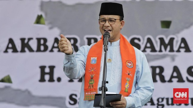 Gubernur Anies Pilih Tetap Kerja Meski Positif Covid-19