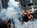FOTO: Demonstrasi di Hong Kong Kembali Ricuh