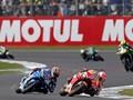 Gestur Penyesalan Marquez Usai Kalah di MotoGP Inggris