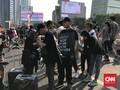 Pesan 'Jangan Pindah Ibu Kota' Disebut Ramai di CFD