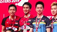 <p>The Daddies, pebulutangkis Mohammad Ahsan dan Hendra Setiawan kembali menjadi sorotan setelah memenangkan medali emas di Kejuaraan Dunia 2019 di Swiss. (Foto: Instagram @king.chayra)</p>