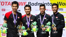 Ganda Putra, Separuh Nyawa Indonesia di Kejuaraan Dunia