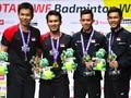 Rapor Pemain Indonesia di Kejuaraan Dunia Bulutangkis 2019