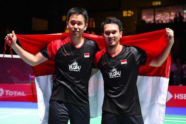 Mohammad Ahsan/Hendra Setiawan menerobos batas yang ditetapkan orang-orang terhadap kemampuan mereka setelah berhasil jadi juara dunia 2019.