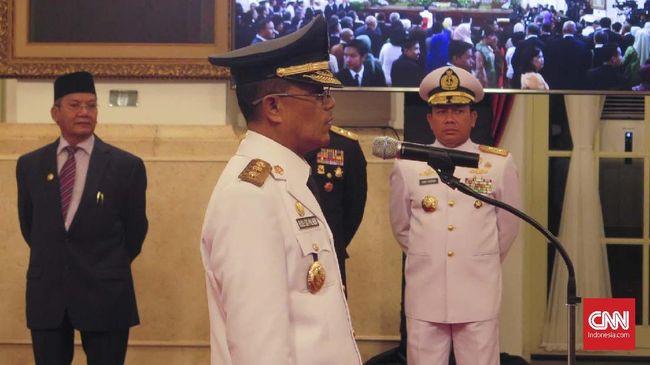 Rusli Baco Dg Palabbi menggantikan wagub sebelumnya Sudarto yang meninggal pada 2016 lalu. Ia terpilih setelah pemungutan suara di DPRD dilakukan.