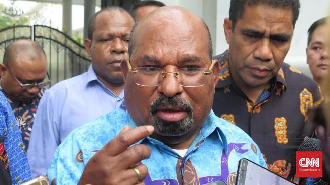Gubernur Papua Lukas Enembe Tunjuk Eks Ketum KNPI Jadi Jubir