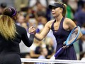FOTO: Serena Menang, Sharapova Tumbang di US Open