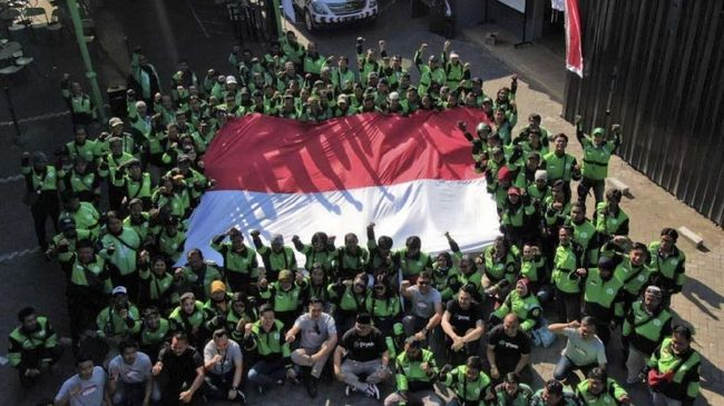 Tetap Demo, Ojol Sengaja Kasih Efek Jera Bos Taksi Malaysia
