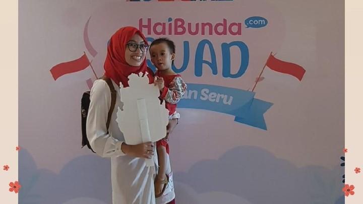 Wah, happy banget nih! Terima kasih Bunda dan buah hati sudah ikutan Agustusan Seru HaiBundaSquad.