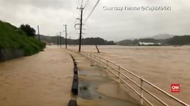 VIDEO: Banjir di Jepang Tewaskan Sejumlah Orang