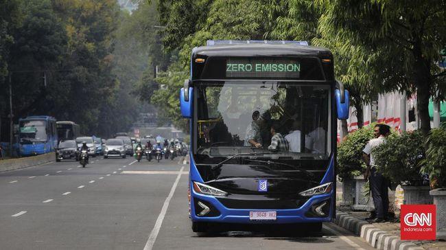 Uji coba bus listrik terhambat oleh aturan spesifikasi sesuai dengan ketentuan yang ada di UU LLAJ.