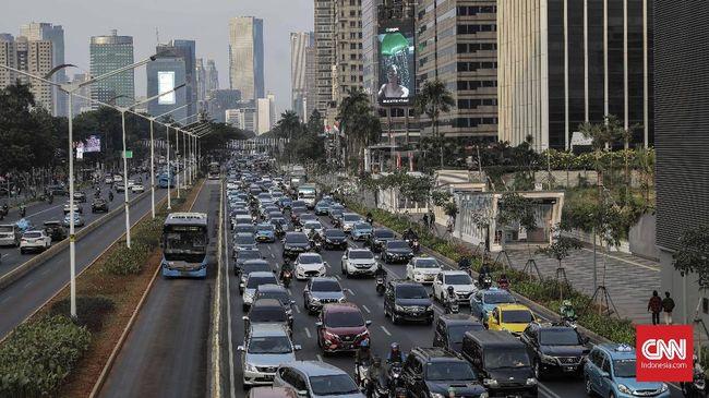 Berdasarkan parameter Airvisual, kualitas udara Jakarta pada Senin (9/9) pagi ini ada di peringkat empat dari total 89 kota besar di dunia.