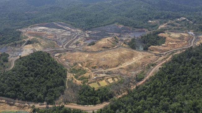 Kepala Bappenas Suharso Monoarfa menyebut ratusan lubang bekas tambang menjadi kendala pembangunan ibu kota negara di Kalimantan Timur.