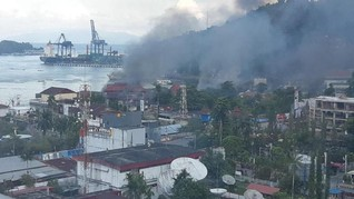 Demo di Jayapura, Kantor Telkom Dibakar Massa