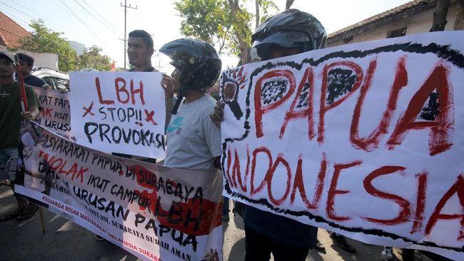 Polda Papua Barat menangkap 36 orang di Manokwari dan Sorong usai demo Papua Merdeka.