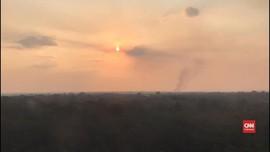 VIDEO: Asap Kebakaran Hutan Amazon Sampai ke Peru