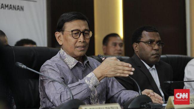 Wiranto menyatakan sebagai negara hukum, pemerintah akan menindak tegas semua pelaku anarkis dalam rusuh di Papua.