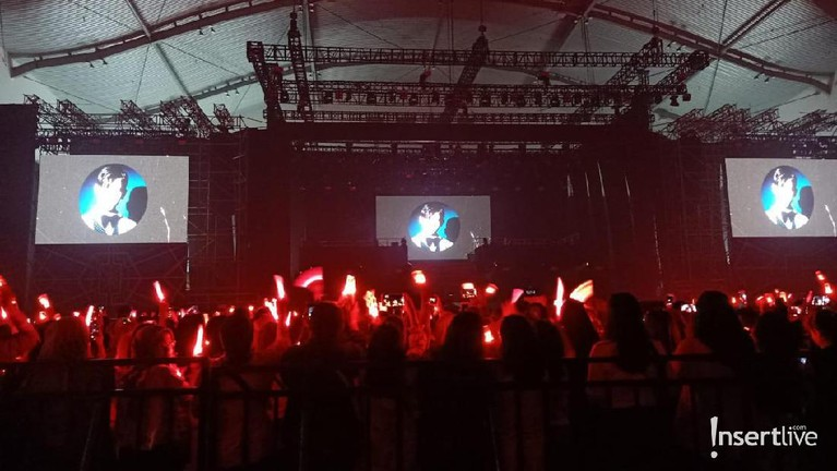 Beberapa keseruan Konser TVXQ sapa para Cassiopeia di ICE BSD, Tangerang, Sabtu (31/8).