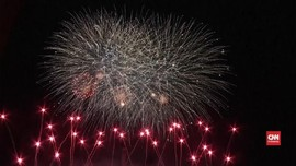 VIDEO: Kejuaraan Dunia Kembang Api Hiasi Langit Berlin
