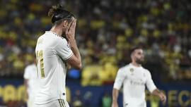 FOTO: Bale Cetak Dua Gol Madrid dan Diusir Wasit