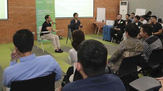 Gojek berkolaborasi dengan Universitas Indonesia (UI) untuk mendorong pertumbuhan perusahaan rintisan lokal guna berkompetisi secara global.