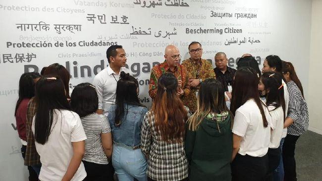 Sebanyak 14 perempuan Indonesia korban kasus pengantin pesanan di China berhasil dipulangkan ke Indonesia pada Selasa (3/9).