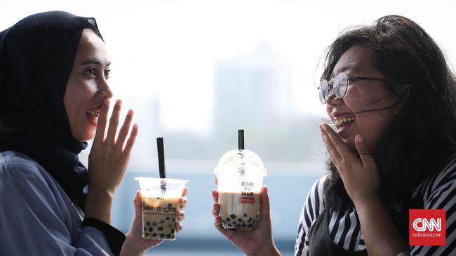 Hati-hati, jangan sampai kebablasan mengonsumsi minuman berboba. Sebagian besar dalam segelas boba brown sugar hanya mengandung gula.