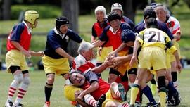 FOTO: Jepang dan Mereka yang Menua Bersama Rugby