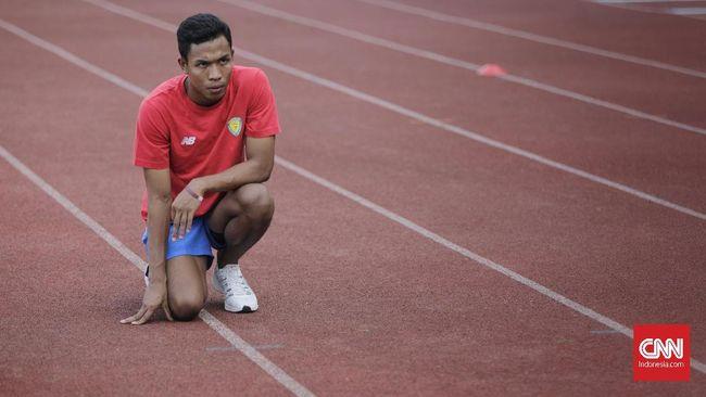 Pelari Lalu Muhammad Zohri ditarget mencapai waktu tempuh 10,02 detik saat tampil di nomor lari 100 meter putra pada Olimpiade Tokyo.