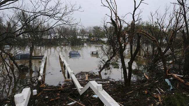 Korban jiwa akibat Badai Dorian di Kepulauan Bahama dilaporkan tembus menjadi 20 orang.