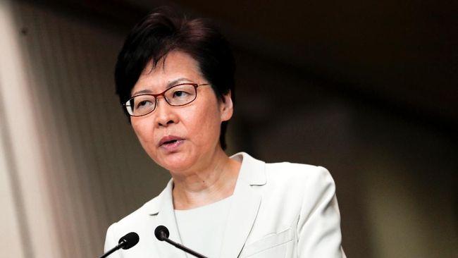 Pemimpin eksekutif Hong Kong Carrie Lam, mengingatkan Amerika Serikat untuk tidak turut campur dalam masalah demonstrasi di kota itu