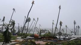 Badai Humberto Ancam Pemulihan Bahama dari Dorian