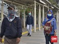 Kemenhub Imbau Pengguna Transportasi Umum Pakai Masker