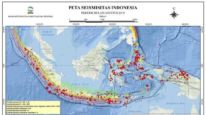 Inti Bumi di Bawah Indonesia