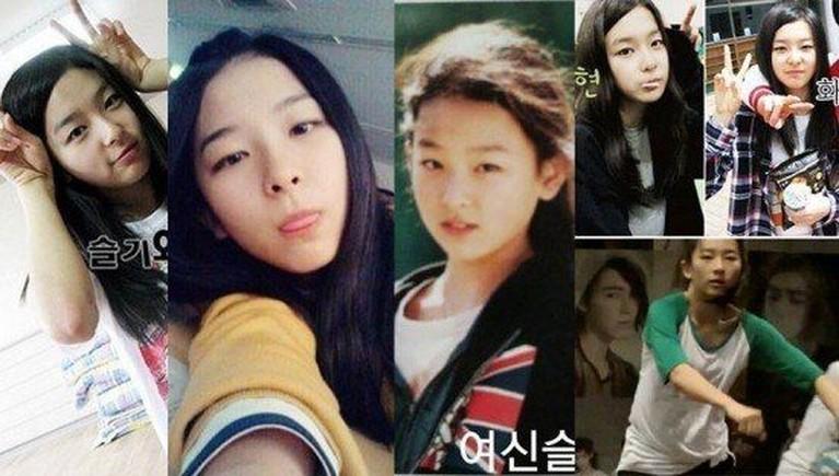 Seulgi, sejak masih duduk di kelas 1 SMP ia sudah menjadi bagian SM Rookies.
