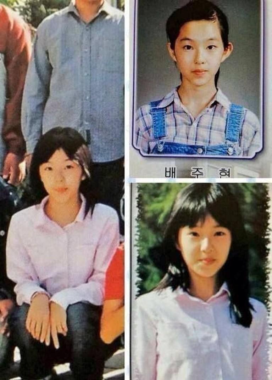 Irene, leader Red Velvet ini sudah terlihat kecantikannya sejak masih kecil.